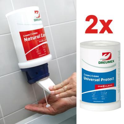 kézvédő krém+ manuális adagoló -DU1,5P 1.