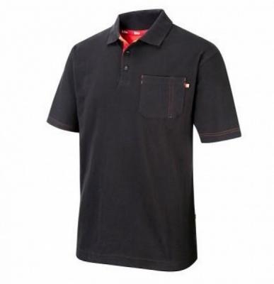 LCTS 011 teniszpóló fekete 1.