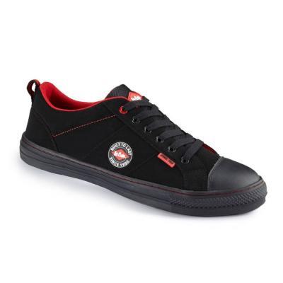 LC 054 S1 fekete retro cipő 1.