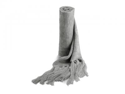 KP402 JACQUARD KNITTED SCARF Sál 1.