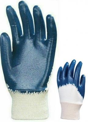 Kétszer mártott kék nitril ECO ultralight kesztyű 1.
