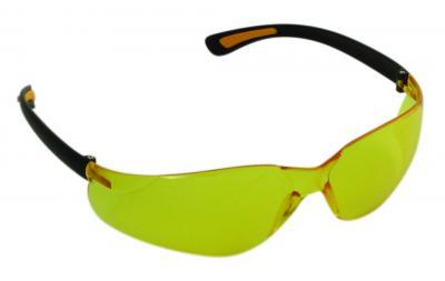Polikarbonát sárga védőszemüveg 1.