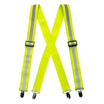 HV56 - Jól láthatósági nadrágtartó - sárga 1.