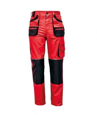 FF CARL BE-01-003 piros/fekete derekas nadrág 1.