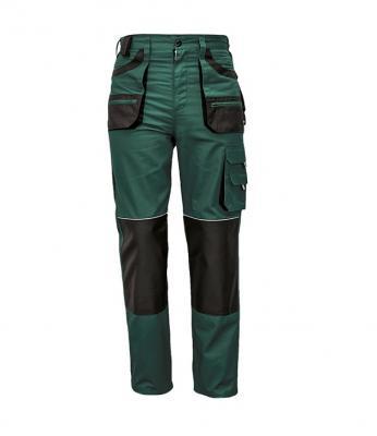 FF CARL BE-01-003 zöld/fekete derekas nadrág 1.