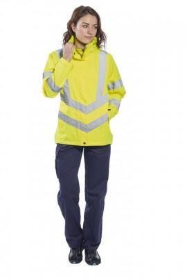 LW70 - Női jól láthatósági lélegző kabát 1.